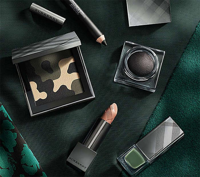 Burberry Fall 2015 Runway Makeup Collection