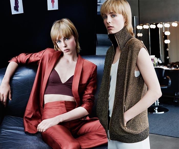 Edie Campbell for H&M Studio Fall 2015 Campaign