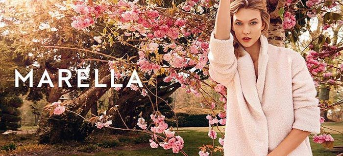 Karlie Kloss for Marella Fall 2015 Campaign