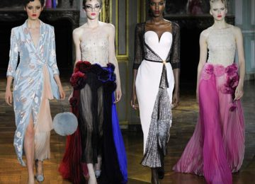 Ulyana Sergeenko Couture Fall/Winter 2015-2016 Collection