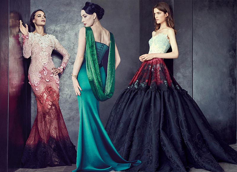 Alexis Mabille Couture Fall/Winter 2015-2016 Collection
