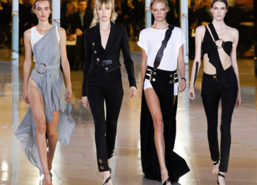 Anthony Vaccarello Spring/Summer 2016 Collection – Paris Fashion Week