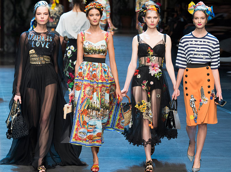 8640fcfaa30 Dolce   Gabbana Spring Summer 2016 Collection
