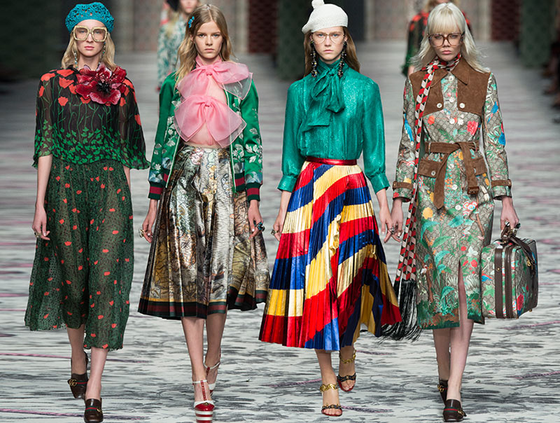 Gucci Spring Summer 2016 Collection Milan Fashion Week