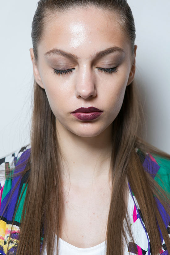 New York Fashion Week Spring 2016 Beauty: Vampy Lips