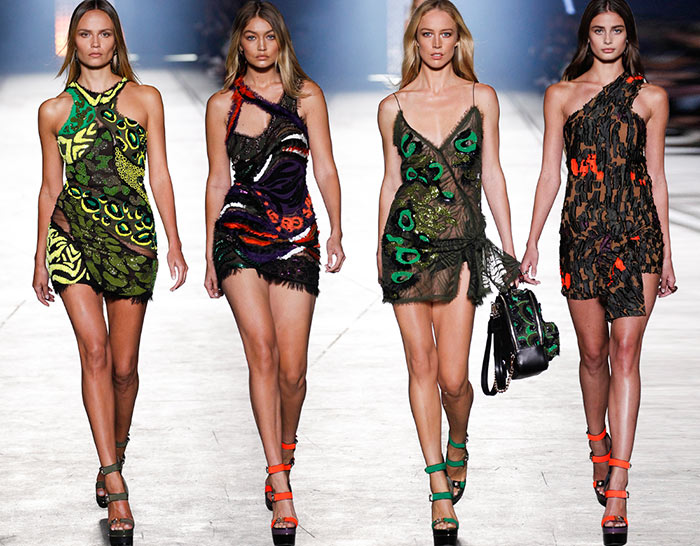 Versace Spring Summer 2016 Collection