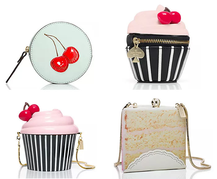 Kate Spade x Magnolia Bakery Bags