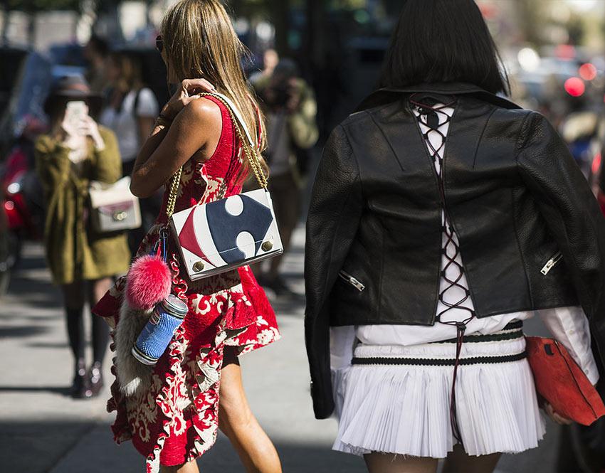 Paris Fashion Week Spring 2016 Street Style Looks