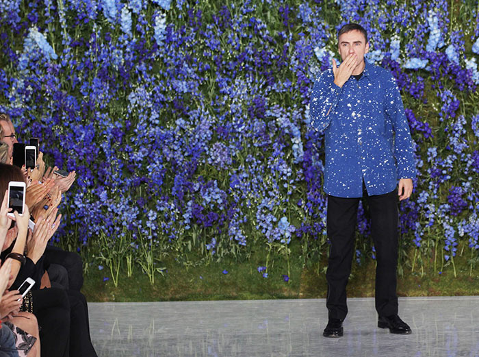 Raf Simons Steps Down At Christian Dior