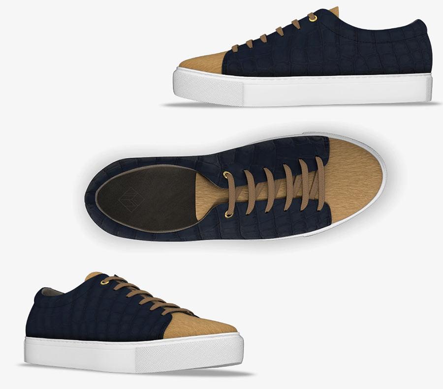 Farfetch MYSWEAR Bespoke Sneakers Fashionisers