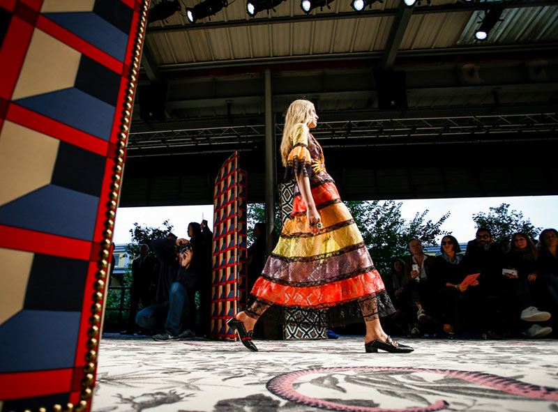Gucci's Alessandro Michele Receives International Designer Fashion Award