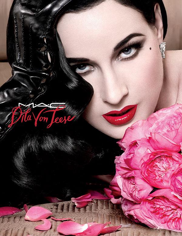 MAC Cosmetics x Dita Von Teese Lipstick
