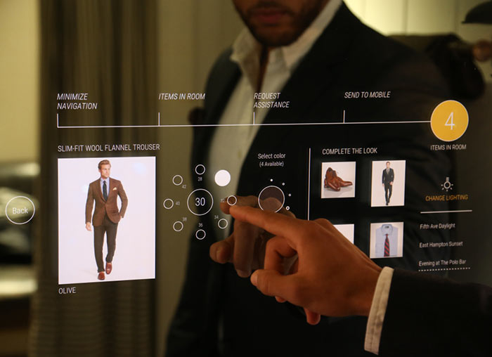 Ralph Lauren Debuts Interactive Fitting Room