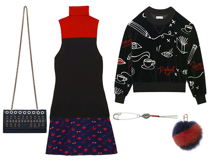 Sonia Rykiel x André Saraiva Holiday 2015 Collection
