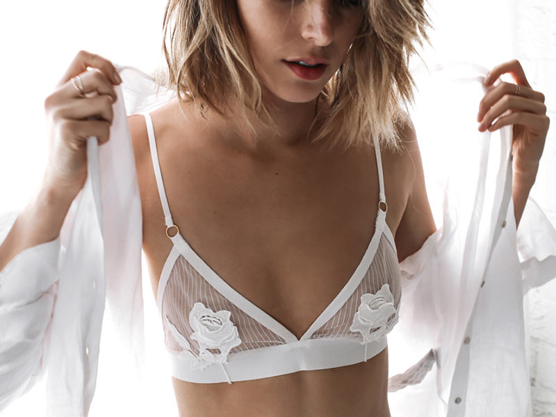 Romantic Wire-Free Lace Bras
