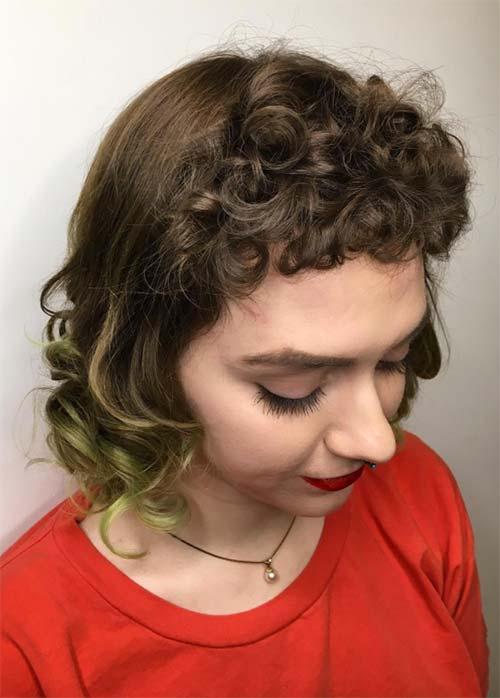 Short Bob Hairstyles & Haircuts With Bangs