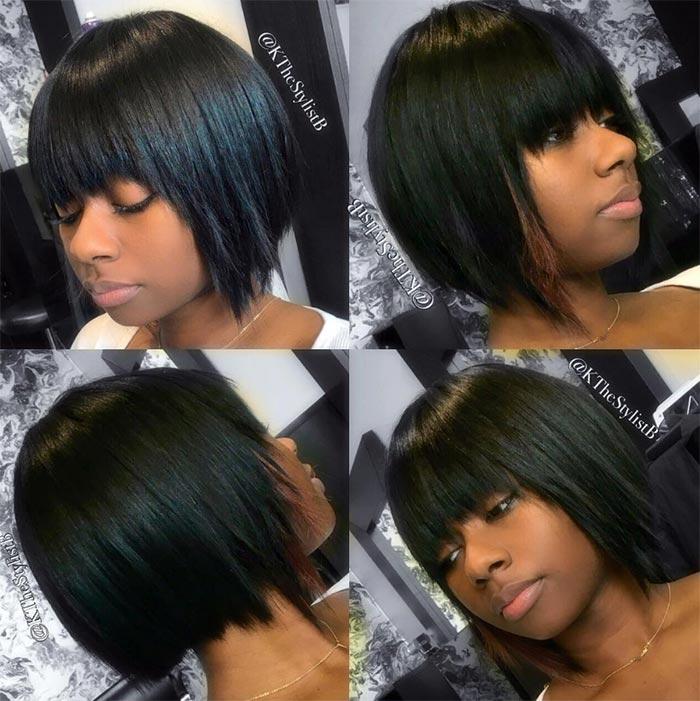 55 Incredible Short Bob Hairstyles Haircuts With Bangs Fashionisers C