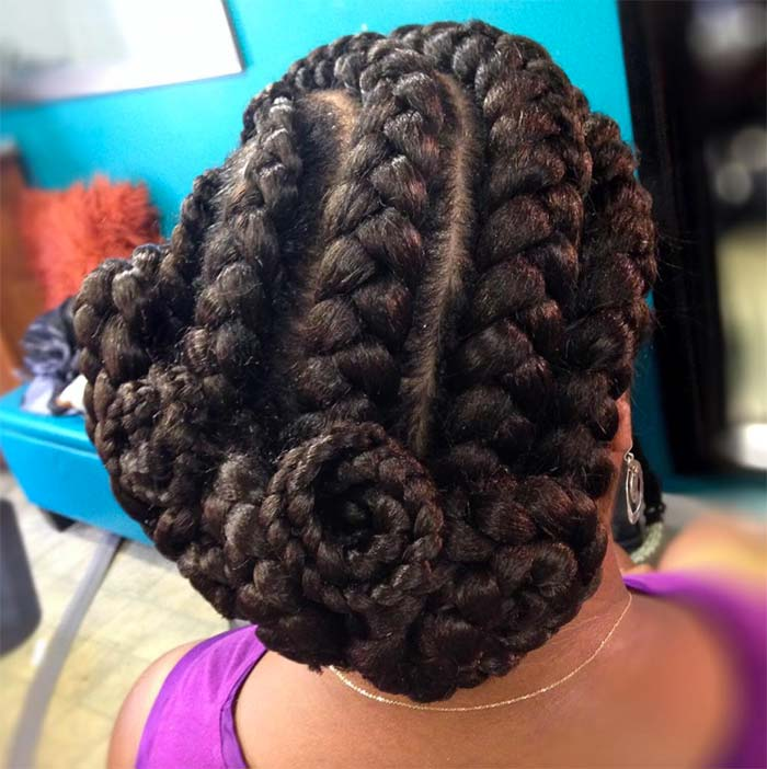 Goddess Braids Hairstyles Ideas