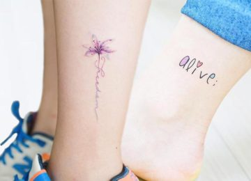 51 Cute Ankle Tattoos for Women: Ideas To Inspire