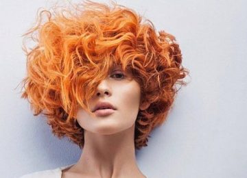 Tangerine Hair: The Bold and Citrus Summer Trend
