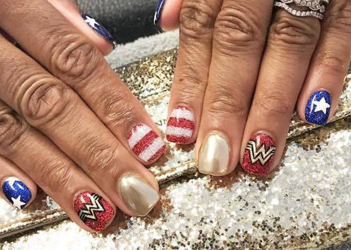 4th of July Nail Designs For Independence Day | Fashionisers