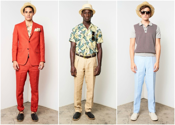 David Hart Men's Spring 2018 Collection