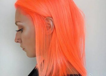 Neon Peach Hair is The Ultimate Summer Hair Trend