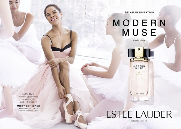 Misty Copeland is the New Estée Lauder Muse