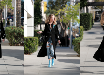 Layering Reinvented With Dresses And Jeans