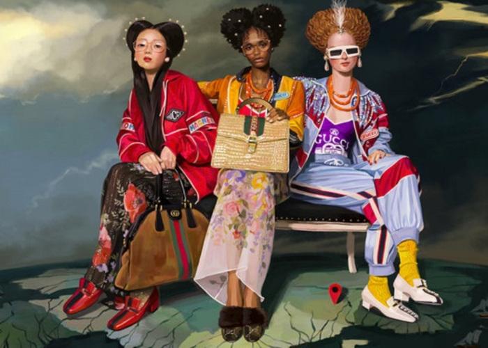 """Gucci's Spring 2018 """"Utopian Fantasy"""" Campaign (2)"""