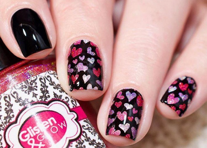 Cute Valentine S Day Nail Art To Swoon Over Fashionisers