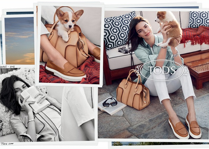 Kendall Jenner Fronts Tod's Spring 2018 Campaign (1)