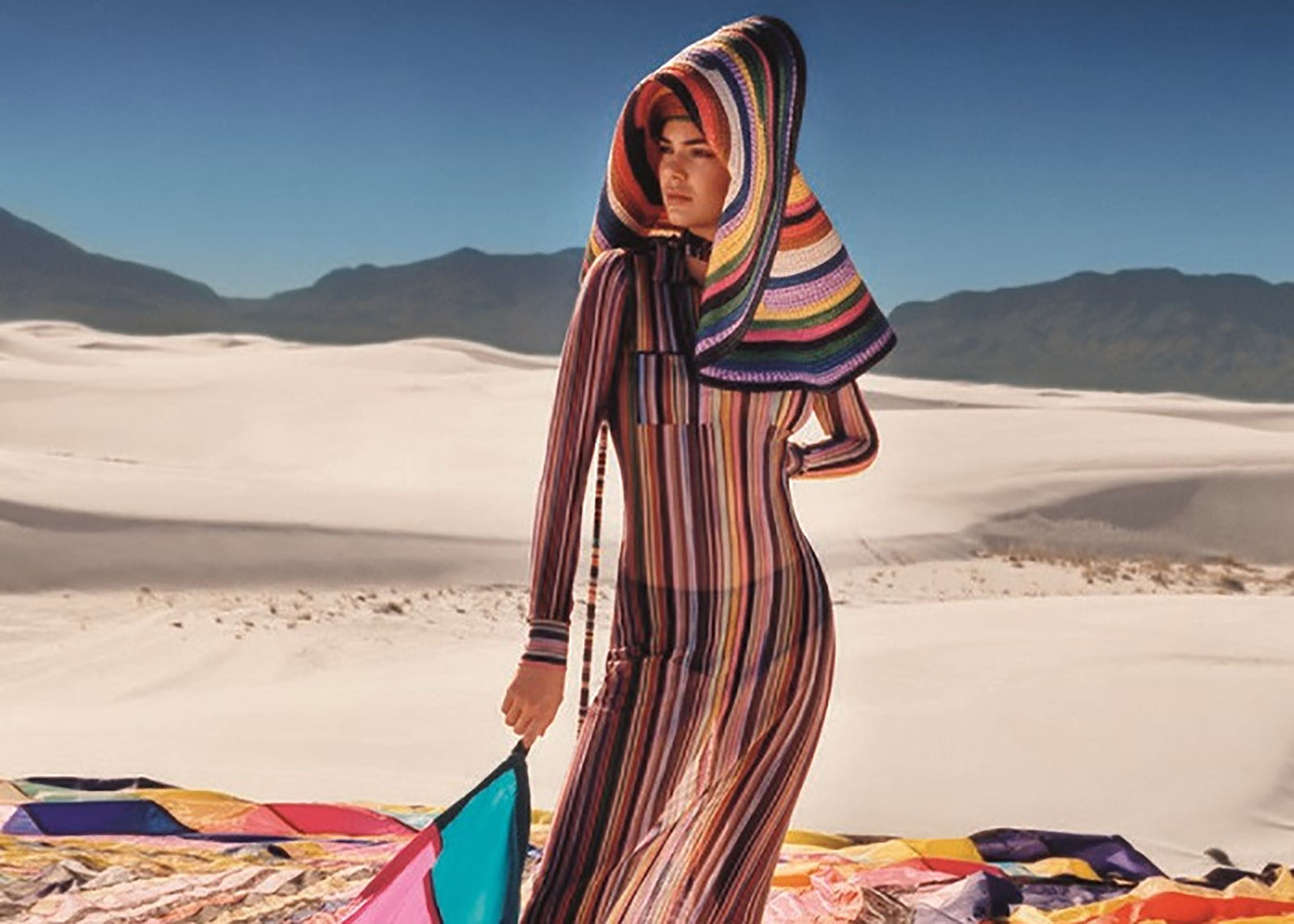 Missoni's Spring Summer 2018 Ads Feature Kendall Jenner