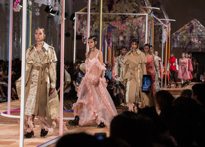Paris Fashion Week Fall 2018 Preview runway show