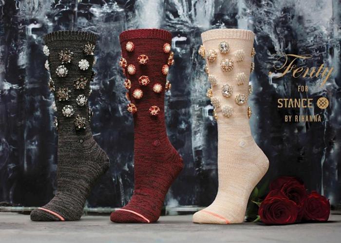 Rihanna x Stance Valentine's Day Collection
