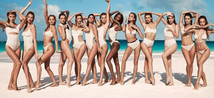 """Solid & Striped Tapped 13 Supermodels for """"Swim Team"""" 2018 Campaign"""