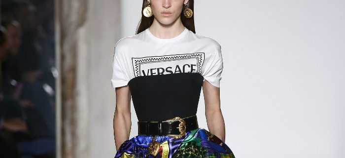 Versace Fall 2018 Collection at MFW