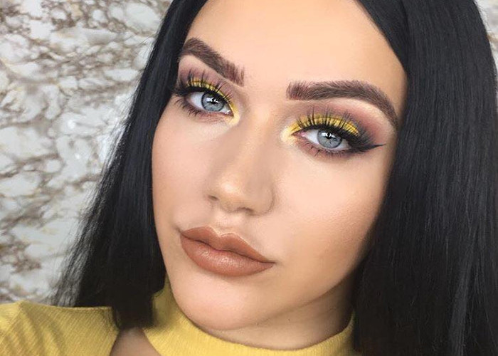Yellow Madness How to Pull Off Springs Hottest Eyeshadow