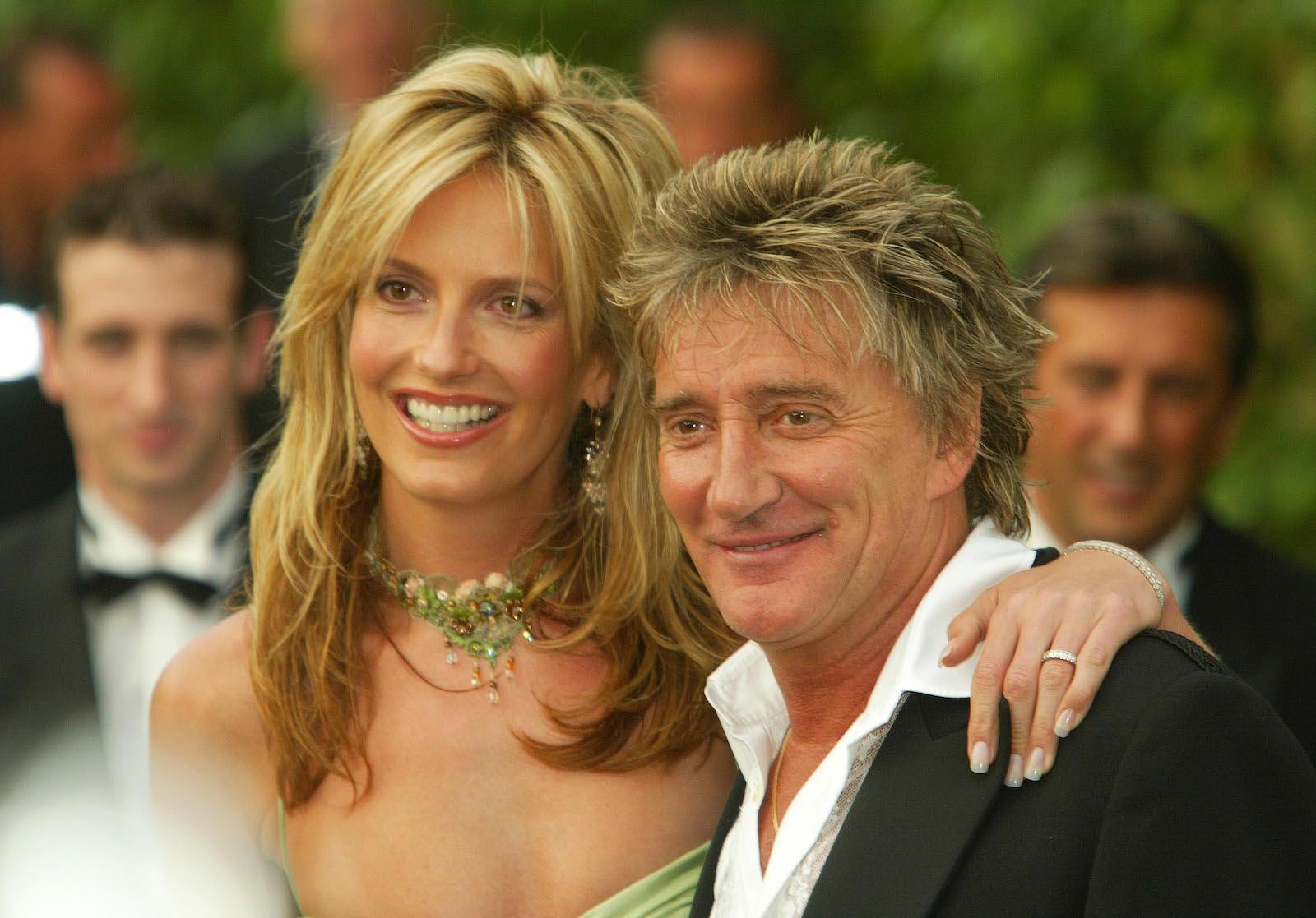 Rocker Rod Stewart Looks Like His Wife's Mom