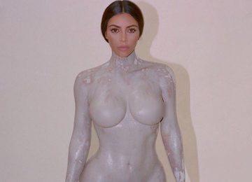 Kim Kardashian's New Fragrance Honors Her Naked Body
