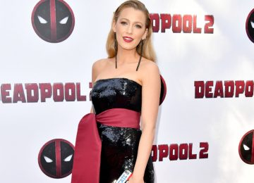 Blake Lively Stuns in a Deadpool-Inspired Look