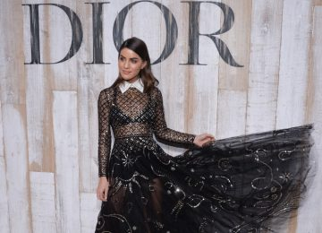 A-Listers Embrace The Sheer Trend At Dior Cruise 2019 Show