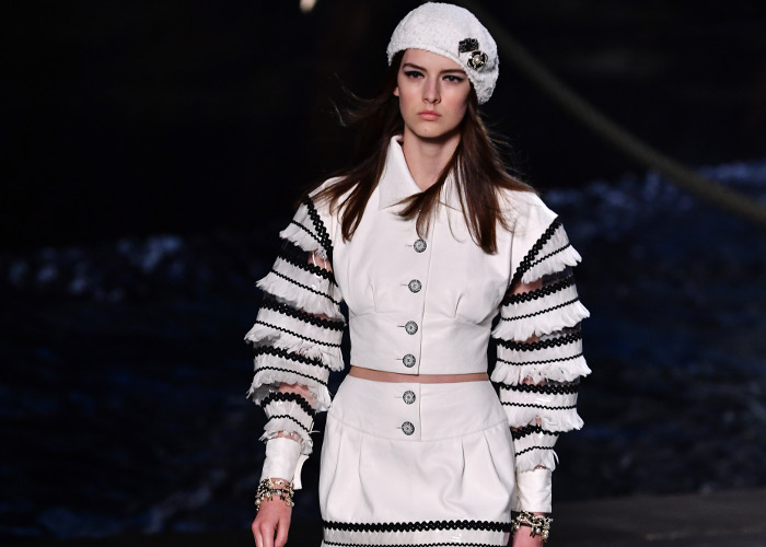 Chanel Cruise 2019 Show Had an Actual Cruise Ship on The Runway