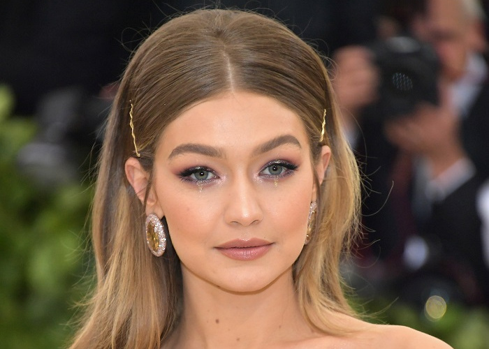 Gigi Hadid Debuts Maybelline's Soda Pop Eyeshadow Palette at The Met Gala