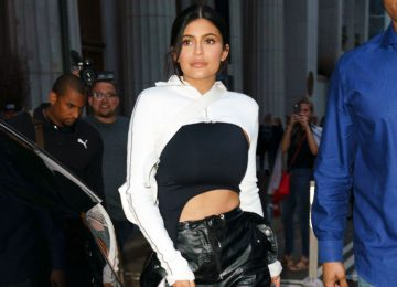 Kendall & Kylie Jenner Turn Heads in NYC in Daring Outfits
