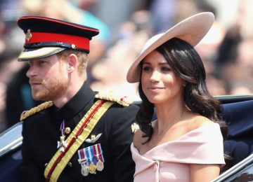 Meghan Markle Broke Royal Protocol at Trooping the Colour