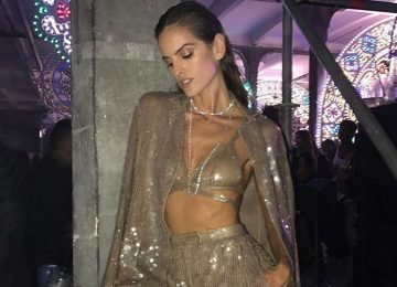Sexy Celebrity Edition: Sheer, Shimmery & Revealing