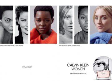 "Lupita Nyong'o & Saoirse Ronan Front CK's ""Women"" Fragrance Ads"