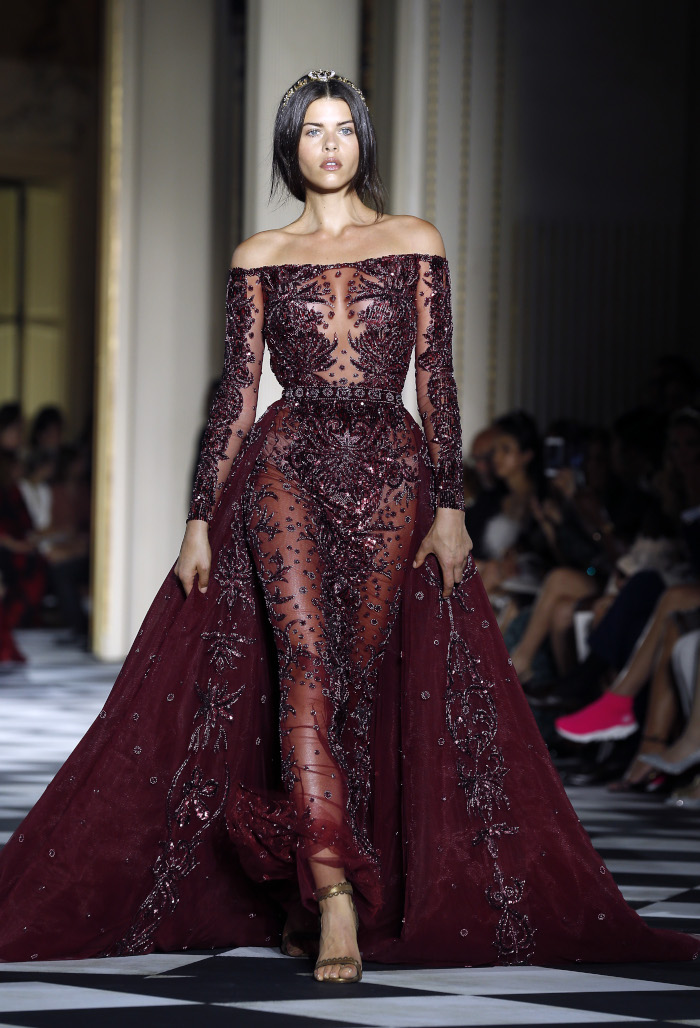 Zuhair Murad Fall 2018 Couture At Haute