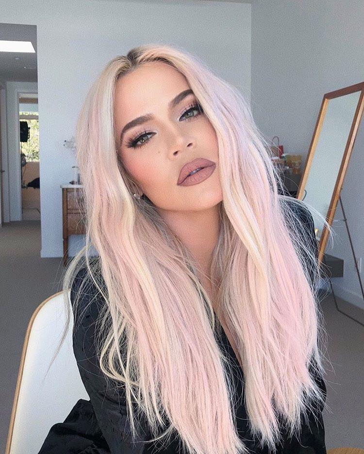 The-Pastel-Hair-Trend-is-Taking-Over-Celebrities-in-2019-Khloe-Kardashian